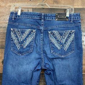 """Tru Luxe Jeans"" Capris"